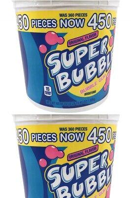 Super Bubble Gum (Super Bubble Original Bubble Gum (63.45 oz., 450 ct.) 2)