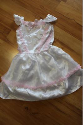 Fasching Karneval Kostüm Kinder Mädchen Kleid Prinzessin Fee Schneeflocke (Kinder Kostüm Schneeflocke)