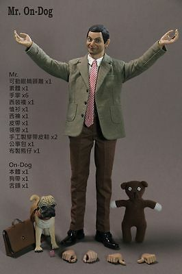 "Hot Toy 1/6 Mr Bean MR. On-DOG 12"" Figure Body Suit Clothing Games Toys"