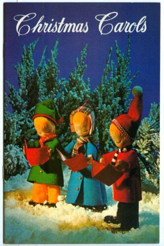 Vintage 1969 CHRISTMAS CAROLS Song Booklet! (Perth Amboy Savings Institute)