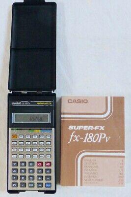 Calculatrice - CASIO fx-180Pv - PROGRAM SUPER FX - Scientifique - Programmable for sale  Shipping to Nigeria