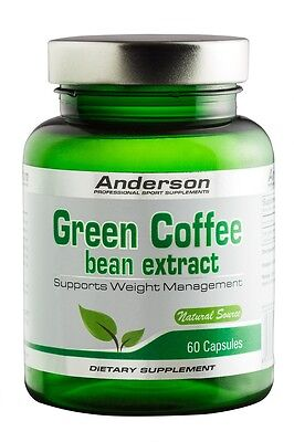 CAFFE' VERDE GREEN COFFEE DIMAGRANTE, ANTIFAME SENZA EFFETTI COLLATERALI 60 CPS.