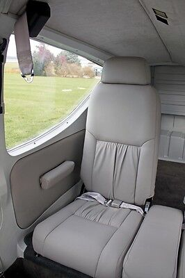 Rockwell Commander 112/114 custom leather interior