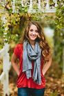 Pashmina Gray Scarves & Wraps for Women