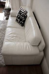 2 leather Nick Scali sofas (2.5 seater and 2 seater) Mosman Mosman Area Preview