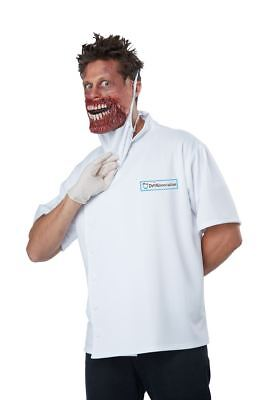 Scary Doctor Halloween Costumes (Dr Novocaine Halloween Costume Adult Men L / XL 42 - 46 Scary)