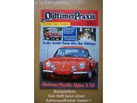 1967?1968 Porsche 911-S  vs Renault Alpine A110 Road Test Brochure 911S,A-110