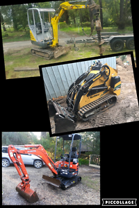 Mini digger hire Ferntree Gully Knox Area Preview