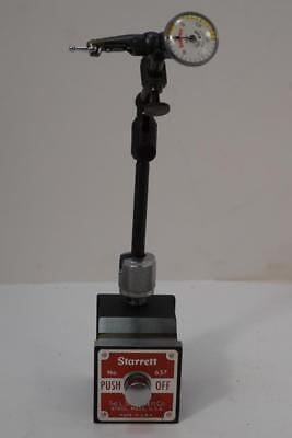 New Starrett Magnetic Base Dial Indicator Holder Last Word Dial Indicator Usa