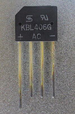 Taiwan Semiconductor Kbl406g Full Wave Bridge Rectifier 830v 4a