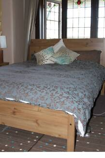 Ikea bed frame plus 2 mattresses Northbridge Willoughby Area Preview