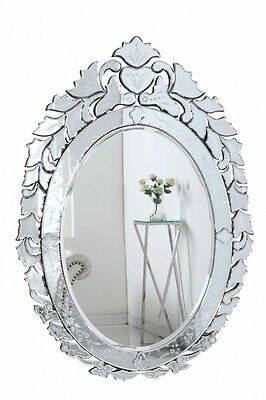MURANO VENETIAN STYLE WALL MIRROR VANITY BEDROOM BATHROOM DINING LIVING ROOM BAR