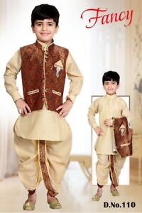 Indian pakistani kids boys clothing kurta all colors Sherwani Ac
