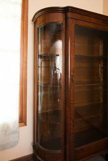 Mahogany display cabinet 1930s - Beautiful antique Mount Pleasant Wollongong Area Preview