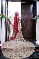 Pakistani wedding/bridal dress for sale (just gorgeous)