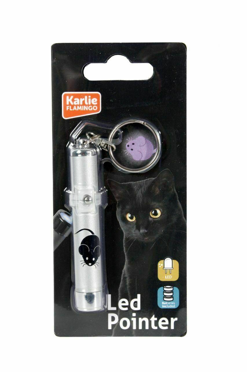 LED Pointer mit Maus-Motiv Katzenspielzeug wie Laserpointer