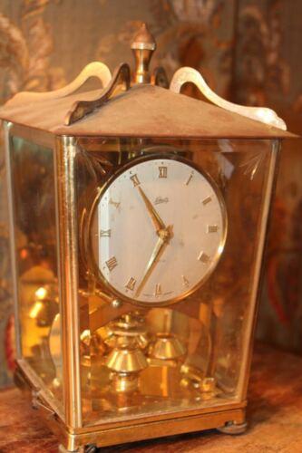 VINTAGE SCHATZ GERMANY BRASS 400 DAY ANNIVERSARY CLOCK