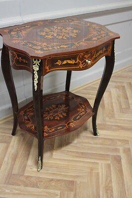 Barock Tisch Antik Stil  Beistelltisch LouisXV AaTa0205