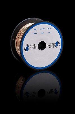 Ercusi-a .030 X 2 Lb Spool Mig Silicon Bronze Copper Welding Wire Blue Demon