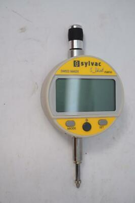 Sylvac Sdial Work Nano Swiss Digital Dial Indicator 12 Cap 0.0001mm .00005