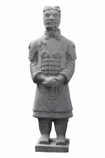 Terracotta Warrior Statue - Sworded General - Small