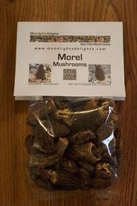 2oz Dried Morel Mushrooms Top Grade Picked Fresh Premium Quality Free Shipping