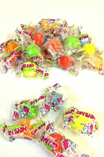 Cry Baby wrapped Sour Gumballs 5 lb (2267g)