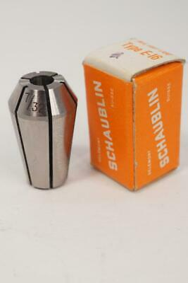 New Schaublin E-16 732 Collet For Emco Unimat Lathe Swiss Made