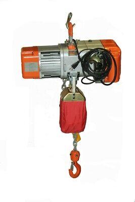 Hd Electric Chain Hoist1000 Lb. 12 Ton 110v Electric Crane Hoist 20ft Chain