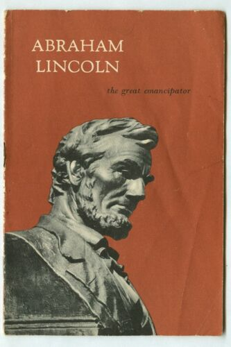 Vintage 1956 ABRAHAM LINCOLN The Great EMANCIPATOR! John Hancock Life Insurance