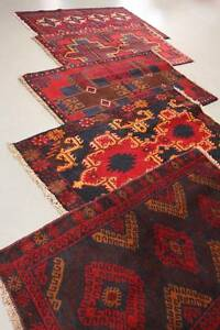 Persian Rug - Genuine Handwoven Afghan Tribal Baluchi Rugs - $79 Rozelle Leichhardt Area Preview