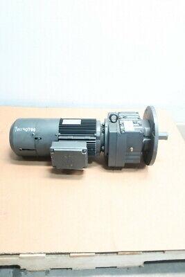 Sew Eurodrive Rf77 Dv100m4bmghfes1a Gearmotor 123rpm 3ph 3hp 230460v-ac