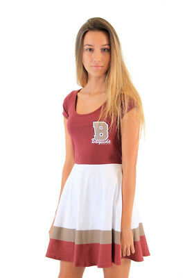 Juniors' TV Show Saved By The Bell Bayside Tigers Cheerleader Costume Dress](Tv Show Costume)