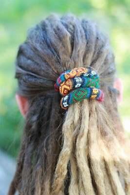 Spiralocks Bendable Hair Tie for dreadlocks Burgundy Hair Tie Dread Accessories](Accessories For Dreadlocks)