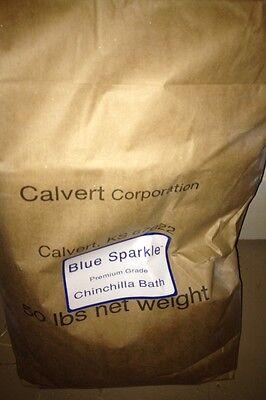15 lbs Blue Sparkle Chinchilla Dust Bath FREE SHIPPING