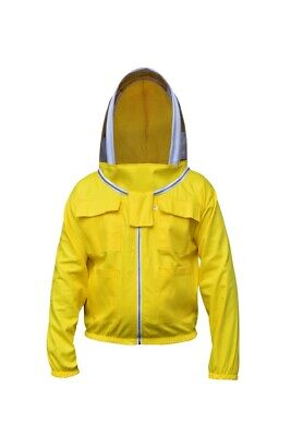 Best Quality 100 /% Cotton beekeeping beekeeper bee jacket fencing veil 3XL