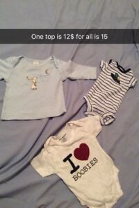 Baby boy clothes and baby  girl clothes