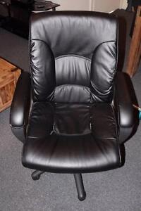 Leather High Back Quality Office Computer Chair Clayton South Kingston Area Preview