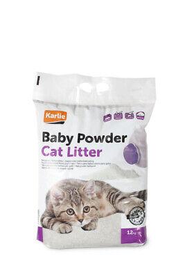 Karlie Katzenstreu Babypuderduft Inhalt: 12 kg