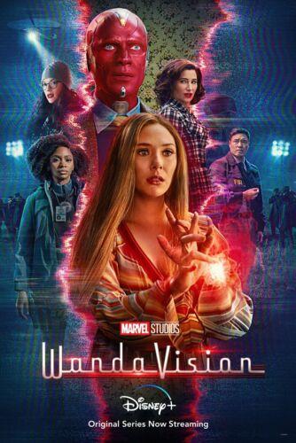 2021 WandaVision Movie Poster Print > Disney Plus > Marvel > Avengers 🍿