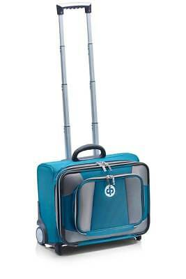 Drakes Pride - Low Roller Trolley Bag Petrol - Bowls Trolley with free Bowls Bag