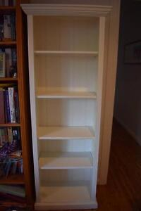 White tall bookcase Bayview Pittwater Area Preview