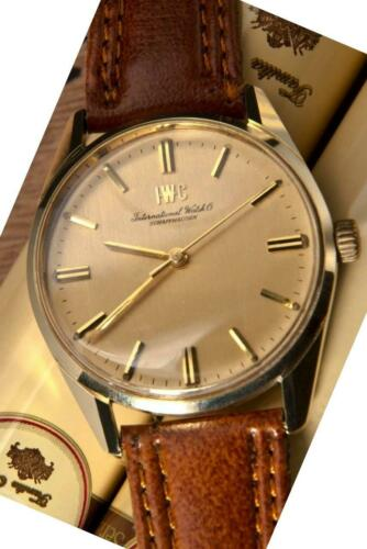 IWC International Watch Company Vintage Rare Find 14K Solid Gold/Steel – R 910 - watch picture 1