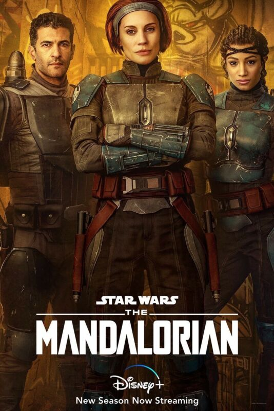 The Mandalorian Season 2 Character Poster Print 11x17 DISNEY STAR WARS Sabine