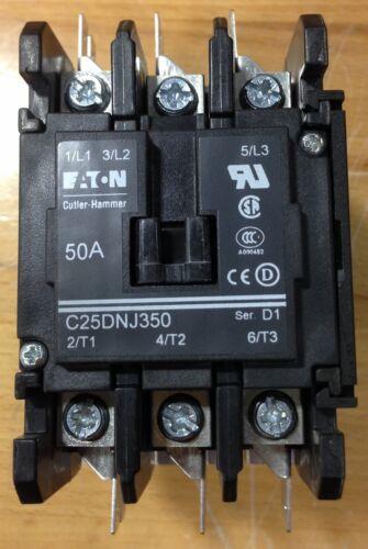 Eaton / Cutler-Hammer Contactor C25DNJ350B 50A 208-240VAC