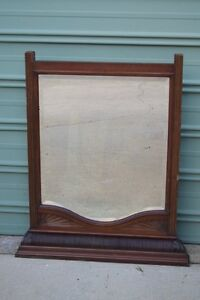 Vintage Antique Timber Frame Mirror Deakin South Canberra Preview