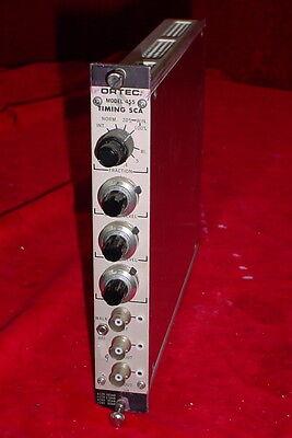Ortec Egg 455 Timing Sca Nim Bin Plug-in Module