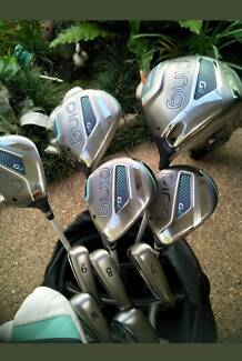 LADIES RIGHT HAND PING GLe GOLF CLUBS