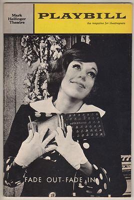 "Carol Burnett  ""Fade Out-Fade In""  Playbill  1964   Jack Cassidy  Broadway"