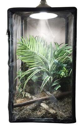 ReptilariumTM  - Reptile, Small Animal, and Insect Terrarium, 38-gallon